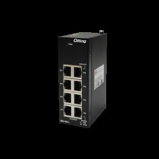 IES-180-L - 8 port unmanaged switch