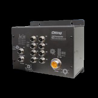 TGPS-9080-M12A-MV EN50155 8-port managed PoE Ethernet switch