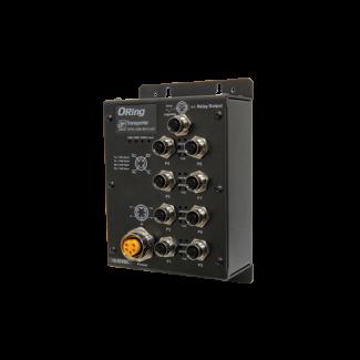 TXPS-1080 EN50155 8-port unmanaged PoE Ethernet switch
