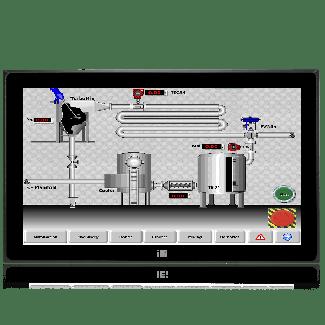 """DM-FW19A, 18.5"""" PCAP touch, 9~36VDC input"""