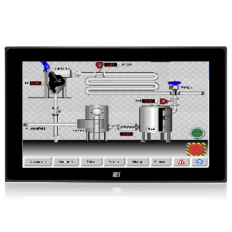 """DM-FW15A, 15.6"""" PCAP touch, 9~36VDC input"""