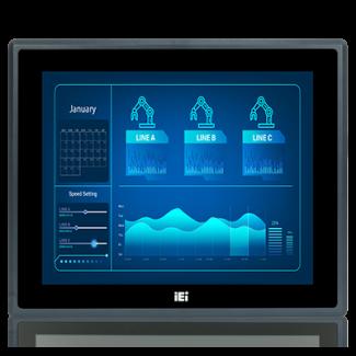 "PPC-F15D-ULT5 - 15"" 8th gen IP66 Panel PC"