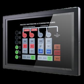"SID-10WR01 - 10.1"" Wide Semi-Ind Ultra Slim Panel PC, Rockchip RK3288"